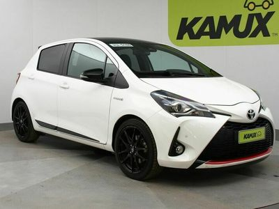 käytetty Toyota Yaris 1,5 Hybrid GR-Sport Aut // Nahka-Alcantara / Pysäköintitutkat / Kaukovaloautomatiikka //