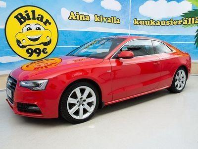 käytetty Audi A5 Coupé 2,0 TFSI 155 kW quattro - //SUOMI-AUTO, SÄRMÄ HUOLTOKIRJA, NELIKKO, SPORTTIPENKIT, BI-XENONIT
