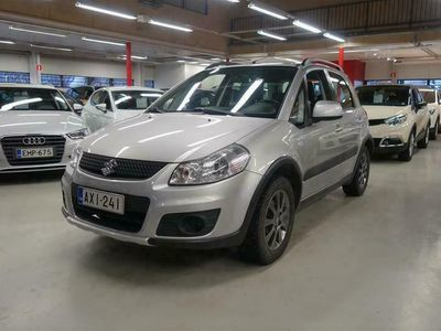 käytetty Suzuki SX4 1,6 VVT 4WD X-OVER 5D *Vetokoukku/Lohkolämmitin+sis.pistoke*
