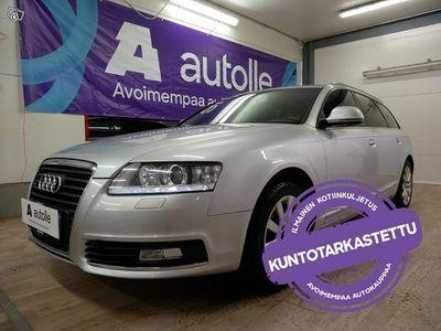käytetty Audi A6 *JUURI KATSASTETTU* 2.7 TDI Quattro Aut.Tarkastettuna, Rahoituksella, Kotiintoimitettuna!