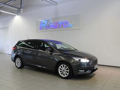 käytetty Ford Focus 1,0 EcoBoost 125 hv Start/Stop M6 Titanium Wagon - Korko 1,50% - S-bonusta 500€:n oston arvosta! Ens