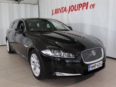 käytetty Jaguar XF Sportbrake 2,2 i4 Td 163 Business *Xenon, Sähk.takaluukku, Lämmitettävä ratti ja -tuulilasi*!
