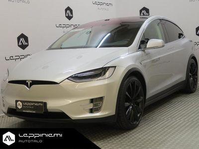 """käytetty Tesla Model X 90D * Supervarusteet! * 22"""" / 6- paikkainen / Vetokoukku / Ilmastoidut penkit / Ultra- stereot / Rahoitus ..."""