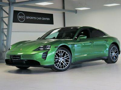 käytetty Porsche Taycan 4S Performance Battery + 420kW, Green Mamba, SportDesign Package, Panorama, Bose, 18-s istuimet