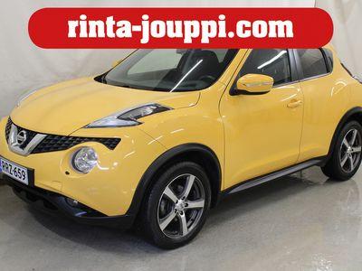 käytetty Nissan Juke DIG-T 115 Acenta 2WD 6M/T - Automaatti-ilmastointi, Vakionopeudensäädin, Moottorilämmitin, sisäpistoke ja sisätilapuhallin