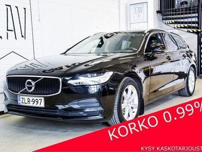 käytetty Volvo V90 D3 Momentum Aut SUOMIAUTO, LED-VALOT + K.VALO AVUSTIN, KARTAT, ADAPT. VAK.NOP, AVAIMETON KÄYTTÖ + S