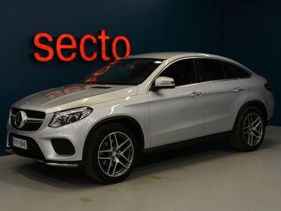 käytetty Mercedes GLE350 d Coupé 4Matic, AMG Line Ulkopaketti, Läm. Ohjauspyörä, Ajoavustin Paketti, Keyless Go,