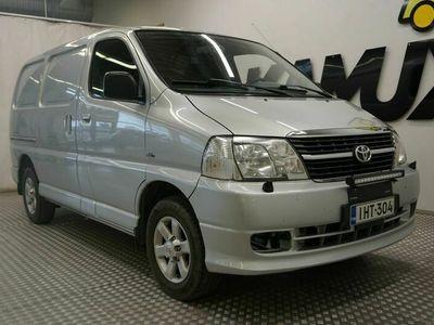 käytetty Toyota HiAce 2,5 D-4D 95 4ov / Lohkolämmitin / Ilmastointi / Suomi-auto / Hyväkuntoinen /