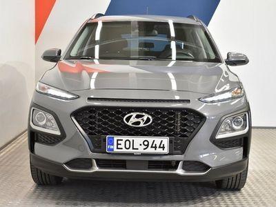käytetty Hyundai Kona 1,6 T-GDI 4WD 7DCT Comfort **Juuri saapunut, Met.Harmaa, Tehdastakuu**