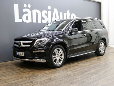 käytetty Mercedes GL350 AMG A ** Huippuvarusteilla! / Yönäkö / Adapt Cruise / H&K / Panorama / 7-P / 360 Kamera / Blindspot / Kaistavahti ** **** LänsiAuto Safe -sopimus hintaan 590€. ****