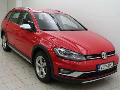 käytetty VW Golf Alltrack Variant 2,0TDI 110 4wd A WEdt Mukautuva vakkari#lisälämmitin
