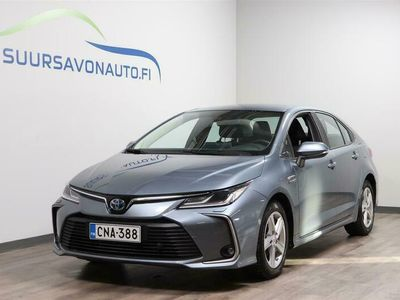 käytetty Toyota Corolla Sedan 1,8 Hybrid Active**ADAPTIIVINEN VAKKARI/PERUUTUSKAMERA/NAVIGOINTI**