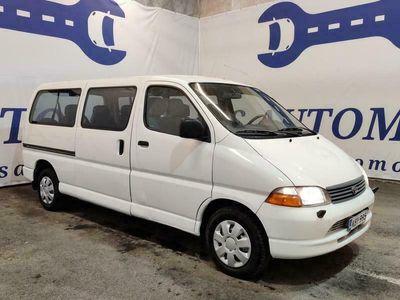 käytetty Toyota HiAce 2,5 D4D 90 4ov Pitkä * 8-paikkainen * Suosittu Vientimalli * Vaihto ja Rahoitus *