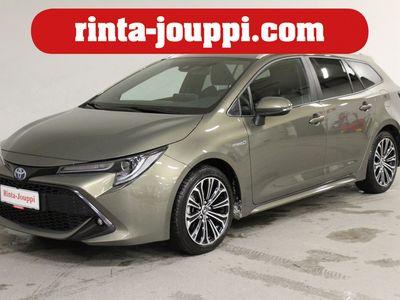 käytetty Toyota Corolla Touring Sports 1,8 Hybrid Style - Upein väri! **2xrenkaat / LED / Kamera / Adapt.cruise / Lämpöratti / Tummennukset yms! ** !