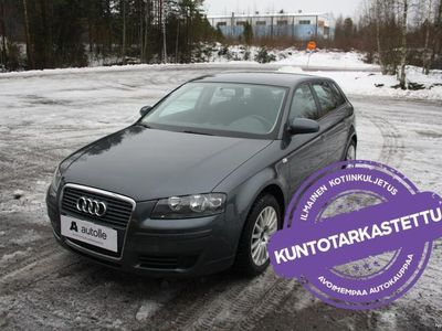 käytetty Audi A3 Sportback *SIISTI* 1.4 TFSI Attraction Plus Tarkastettuna, Rahoituksella, Kotiin toimitettuna!