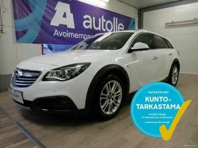 käytetty Opel Insignia Country Tourer *HELMI* 2,0 CDTI BiTurbo 4x4 A, Tarkastettuna, rahoituksella, kotiin toimitettuna.