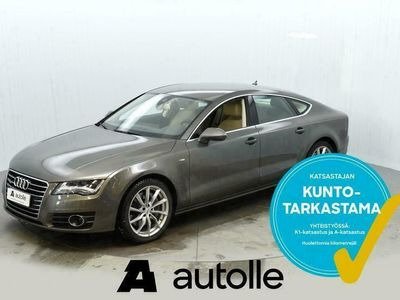 käytetty Audi A7 *SPORTTINEN* 3.0TFSI V6 quattro 220kW Aut Tarkastettuna, Rahoituksella, Kotiin toimitettuna!