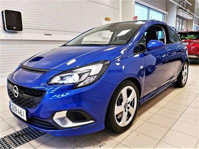 käytetty Opel Corsa 3-ov OPC 1,6 Turbo 207hv MT6 Lapin auto. Titaani takuu 24kk ilman km rajaa, 6.9s/100km, juuri huolle