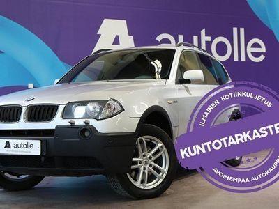 käytetty BMW X3 *SIISTI*3.0iA 5d Hyväkuntoinen bemu!, Tarkastettuna,Rahoituksella,kotiintoimitettuna!