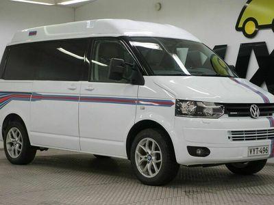 käytetty VW Transporter Kombi 2,0 TDI 103 kW 4Motion 2-0-0 3200 kg vakionopeussäädin / Climatic-ilmastointi (ohjaamo) + lisälämmitys (tavaratilassa/matkustamossa)
