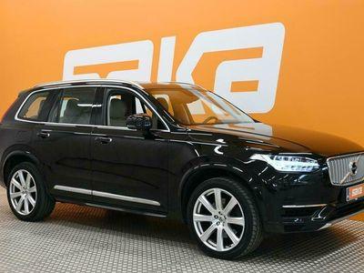 käytetty Volvo XC90 T8 Twin Engine AWD Inscription aut 7-p. ** Digimittari / ACC / Lisälämmitin / HUD / BLIS / Panorama / Navi / P-avustin **