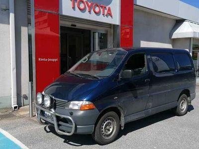käytetty Toyota HiAce 2,5 D-4D 90 4ov - Vetokoukku,lohko+sisähaara