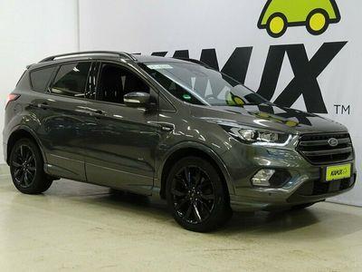käytetty Ford Kuga 1,5 EcoBoost 182 hv A6 AWD ST-Line *Tulossa myyntiin / Auto varattavissa heti!* // Adapt. vakkari / 1-omistaja / Blindspot / Keyless go / Vetokoukku / Nahka-alcantra / Sporttipenkit / Peruutuskamera//