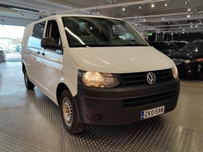 käytetty VW Transporter umpipakettiauto pitkä 2,0 TDI 84 kW BMT