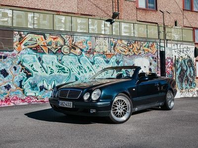 käytetty Mercedes CLK230 Kompr Cabrio A