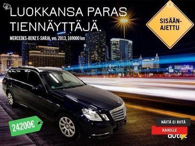 gebraucht Mercedes E250 CDI BlueEfficiency 3,9% ILMAN KÄSIRAHAA