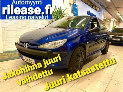 käytetty Peugeot 206 Trendy 1,4 5d, Ilmastointi, Jakohihna juuri vaihdettu, Juuri katsastettu ,