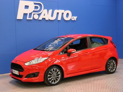 käytetty Ford Fiesta 1,0 EcoBoost 100hv Start/Stop M5 ST-line 5-ovinen - *1000€ S-bonuskirjaus! Korko 0,99%**, 72 kk, il