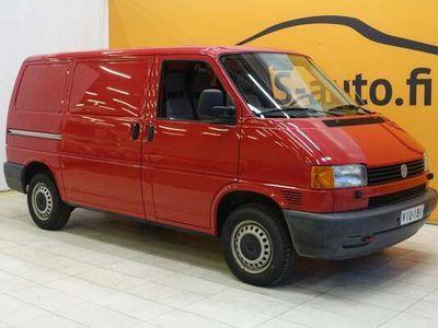 käytetty VW Transporter umpipakettiauto 1,9 TD 50kW #Vetokoukku