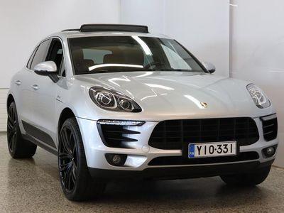 käytetty Porsche Macan S Diesel / Panorama kattoikkuna / Webasto / Nahkav. / Suomiauto