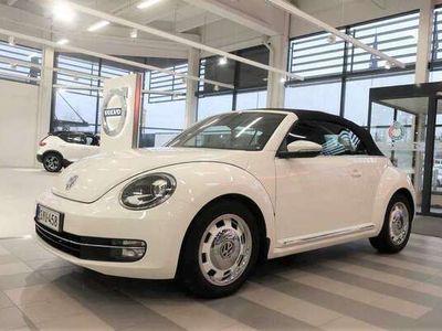 käytetty VW Beetle Cabriolet Design 1,2 TSI 77 kW (105 hv) DSG-automa