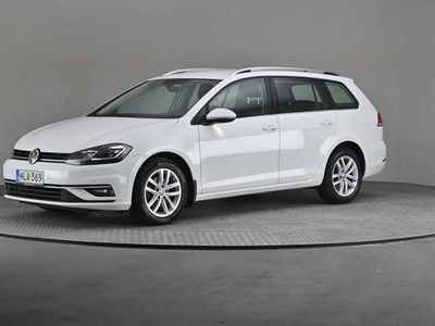 käytetty VW Golf Variant Highline 1,6 TDI 85 DSG -Digimittaristo, Webasto, Navi-