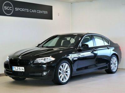 käytetty BMW 550 i xDrive Sport A F10 Sedan, Aktiivi-cruise, Kauko-webasto, Comfort-istuimet, Pro-Navi ja Hifi DSP