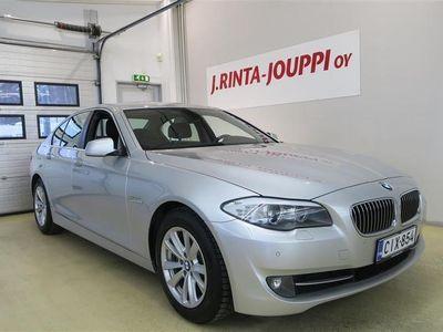 käytetty BMW 520 TwinPower Turbo A F10 Sedan Business Automatic Edition *huippusiisti merkkihuollettu Suomi-auto*