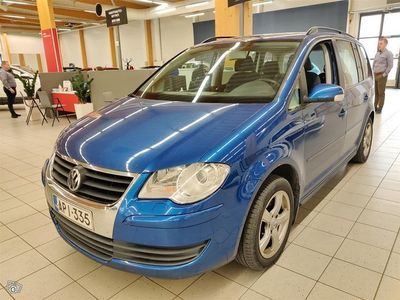 käytetty VW Touran Trendline 1,4 TSI 103 kW #Defa lämpöpaketti #Vetokoukku #Hyvin huollettu