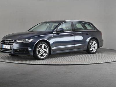 käytetty Audi A6 Avant SlineBsnSport 2,0TDI ultra A-Webasto, Vetokoukku, Navi, Peruutuskamera-