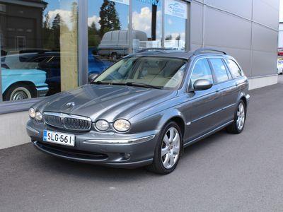 käytetty Jaguar X-type 3,0 V6 AWD Executive Estate *HIENO SUOMIAUTO*