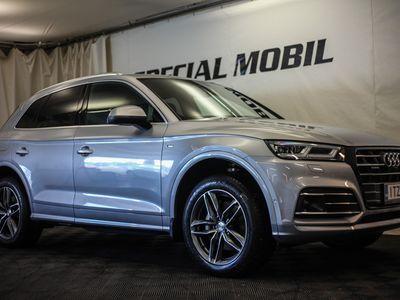 käytetty Audi Q5 Launch Edition 55 TFSI e quattro S tronic S-Line(Matrix,B&O,3D,Tour,City,Parking,360)