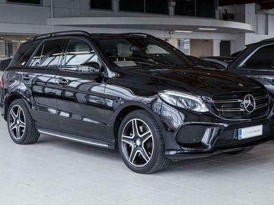 käytetty Mercedes GLE500 4Matic Designo AMG, Distronic, Airmatic, Koukku, Night