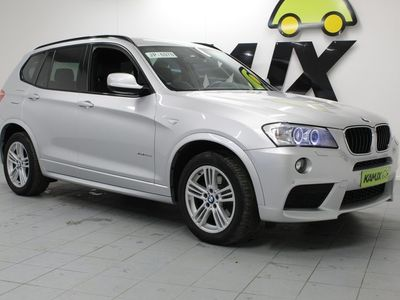 käytetty BMW X3 xDrive20d TwinPower Turbo A F25 Business Automatic / Osanahkaverhoilu / Navi / Peruutuskamera