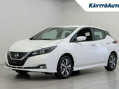 käytetty Nissan Leaf Acenta MY21 40 kWh 6,6 kW Charger FI
