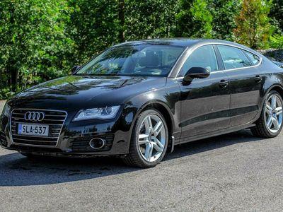 käytetty Audi A7 Business 3,0 V6 TDI 180 kW quattro tiptronic (Yönäkö, Bose, ACC, Milano, Webasto, CornerView, HUD)