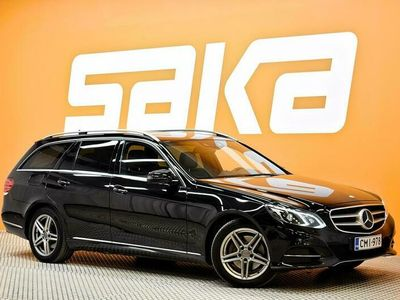 käytetty Mercedes E300 BlueTec Hybrid T A Premium Business - Upea. Voimakas. Taloudellinen!