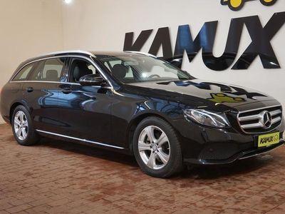 käytetty Mercedes E220 T A Premium Business / NAVI, VETOKOUKKU, SÄHKÖTAKALUUKKU YMS.!
