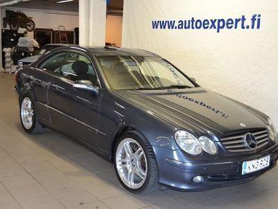 käytetty Mercedes CLK320 Coupe A. Huippuhieno!! Myös ilman käsirahaa!!