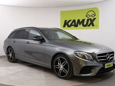 käytetty Mercedes E220 Aut AMG-Line // Led-ajovalot / Navigointi / Nahka-Alcantara //